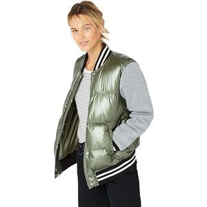 Levi's Quilted Puffer Satin Bomber Jacket NWT